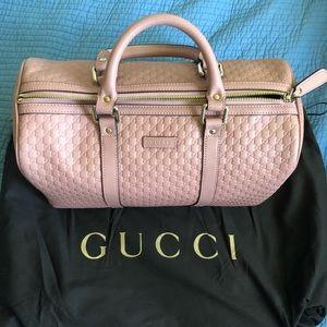 Gucci duffle Boston Bag